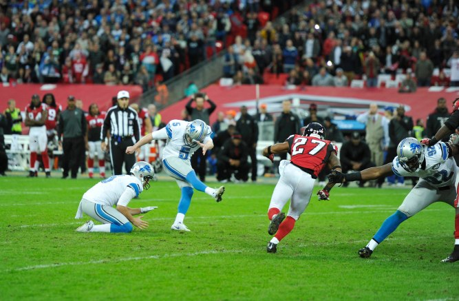 Detroit Lions  v Atlanta Falcons , London